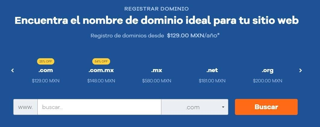 cupones hostgator mexico - cúpon hostgator mexico - Registrar Dominio