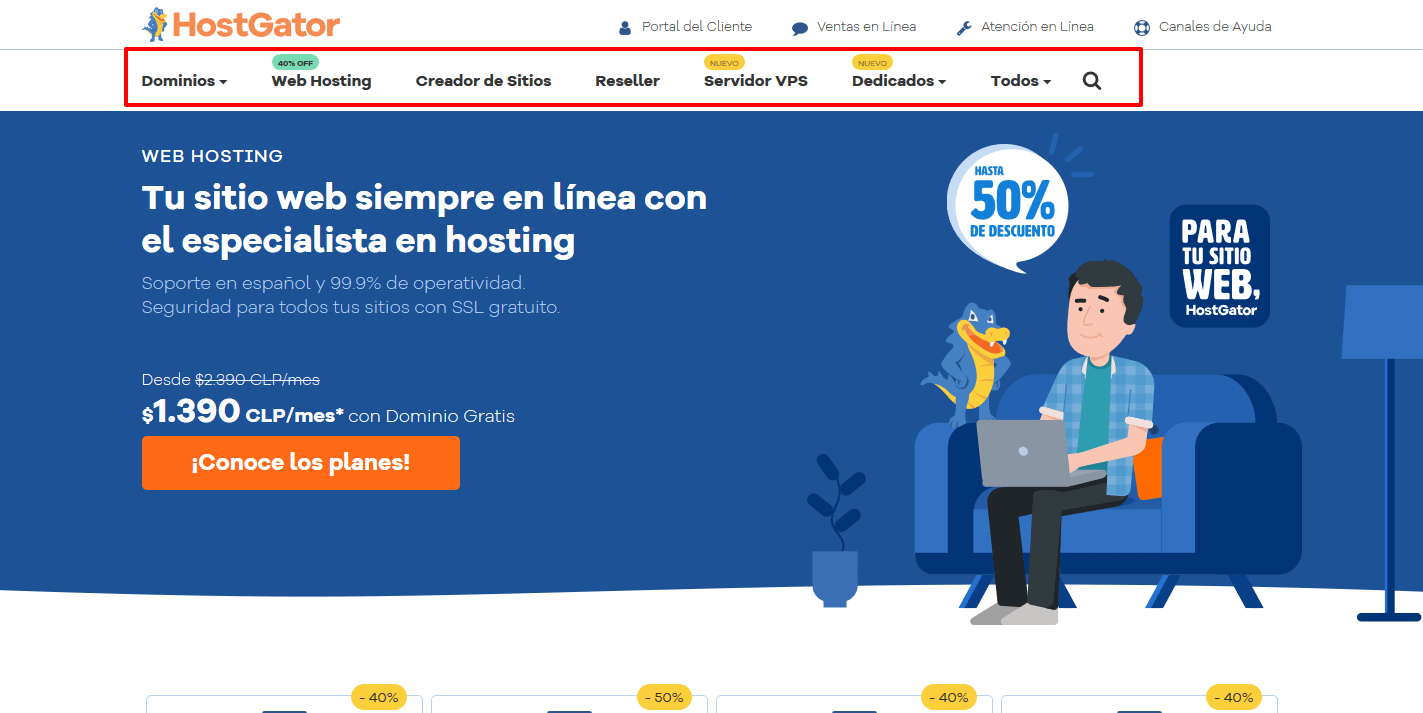 Cupones Web Hosting - cupones hostgator chile cúpon hostgator chile Hosting Web en Chile con Dominio Gratis HostGator Chile