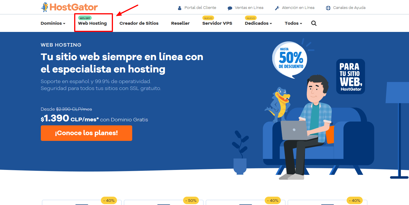 cupones hostgator chile - cúpon hostgator chile - Hosting Web en Chile con Dominio Gratis HostGator Chile(1)