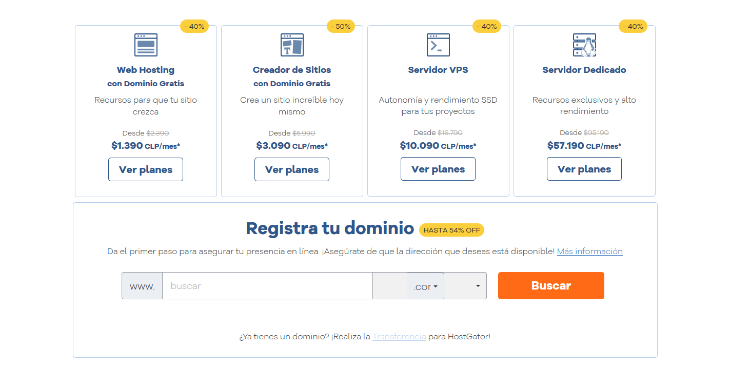 cupones hostgator chile - cúpon hostgator chile - Hosting Web en Chile con Dominio Gratis HostGator Chile(2)