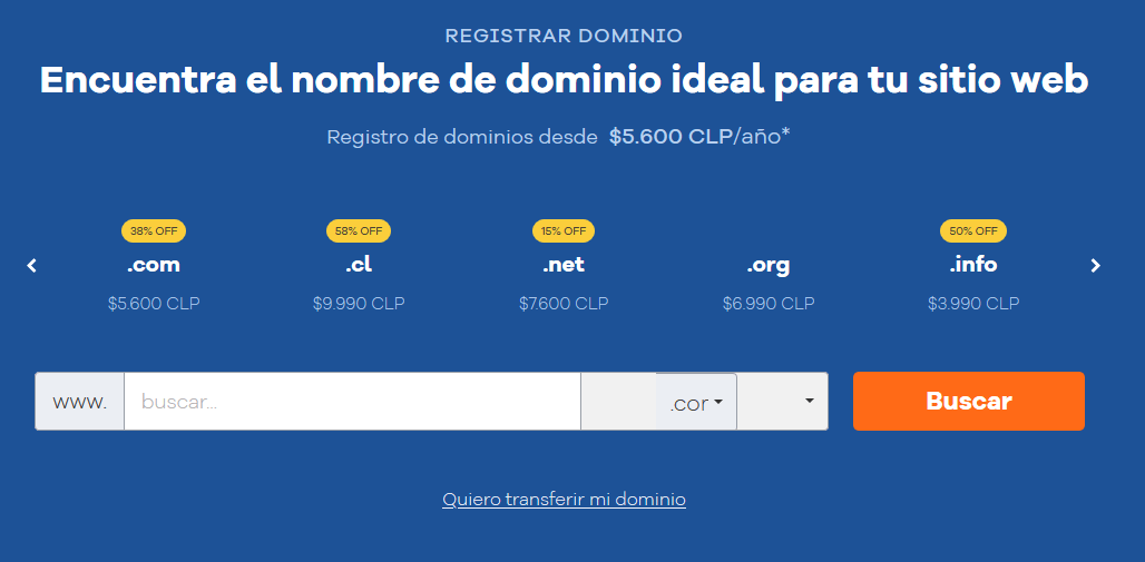 Cupones Web Hosting - cupones hostgator chile cúpon hostgator chile Registra tu Dominio HostGator Chile