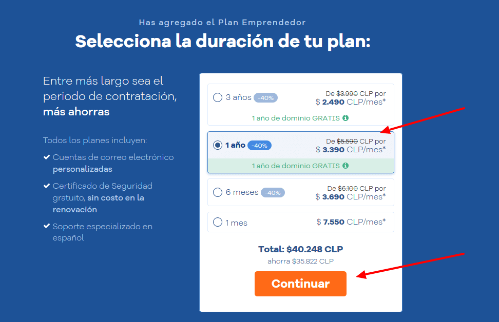 cupones hostgator chile - cúpon hostgator chile - Selecciona tu plan de hosting