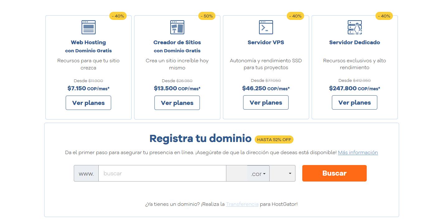 Cupones Web Hosting - cupones hostgator colombia cúpon hostgator colombia Hosting Colombia Alojamiento Web Rápido y Seguro HostGator