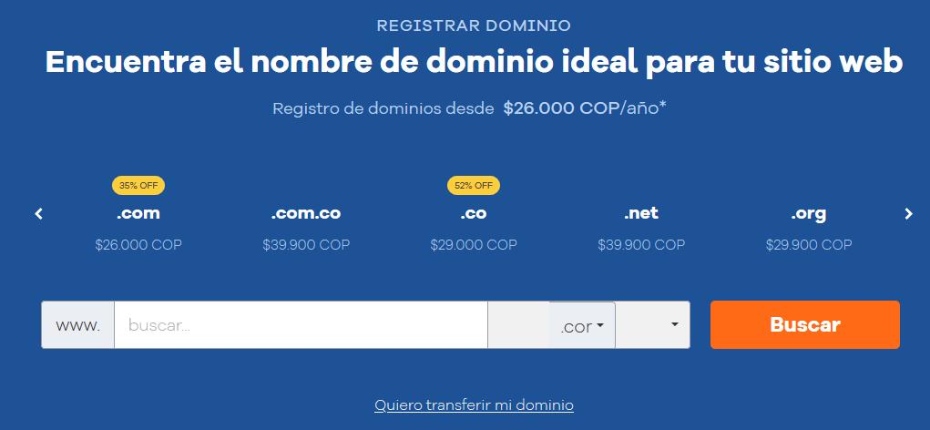 Cupones Web Hosting - cupones hostgator colombia cúpon hostgator colombia Registra tu Dominio HostGator Colombia