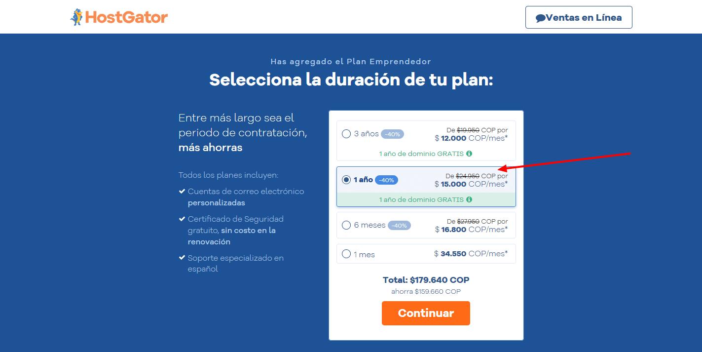 cupones-hostgator-colombia-cúpon-hostgator-colombia - Selecciona tu plan de hosting(2)