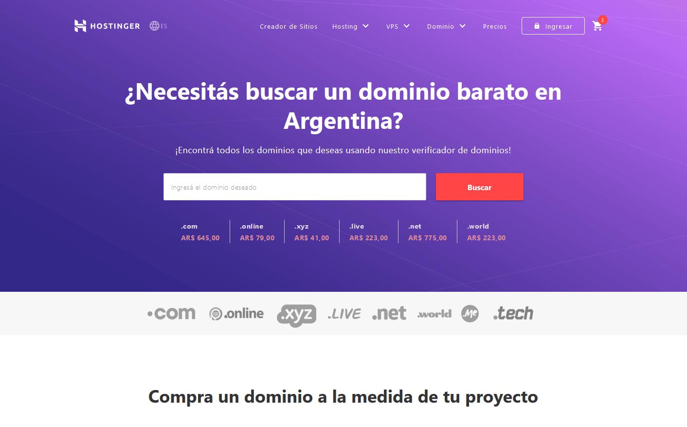 cupones hostinger argentina descuentos - Hosting Argentina Rápido y Potente (19)