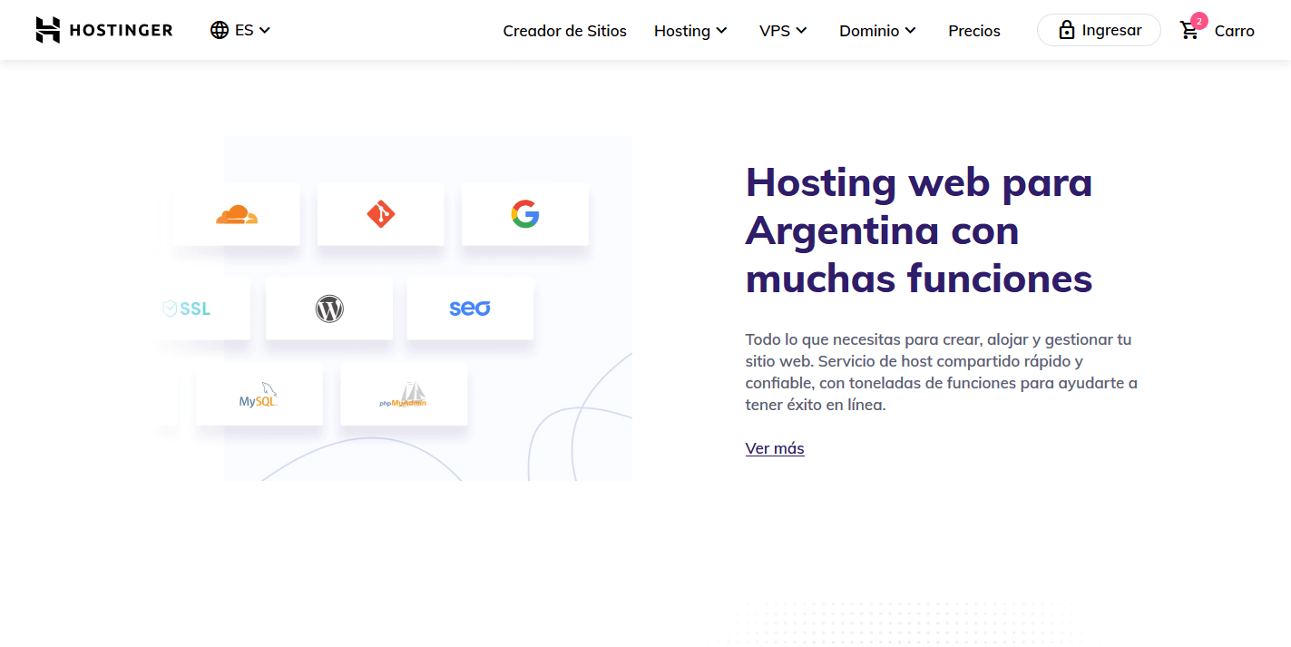 cupones hostinger argentina descuentos - Hosting Argentina Rápido y Potente (34)
