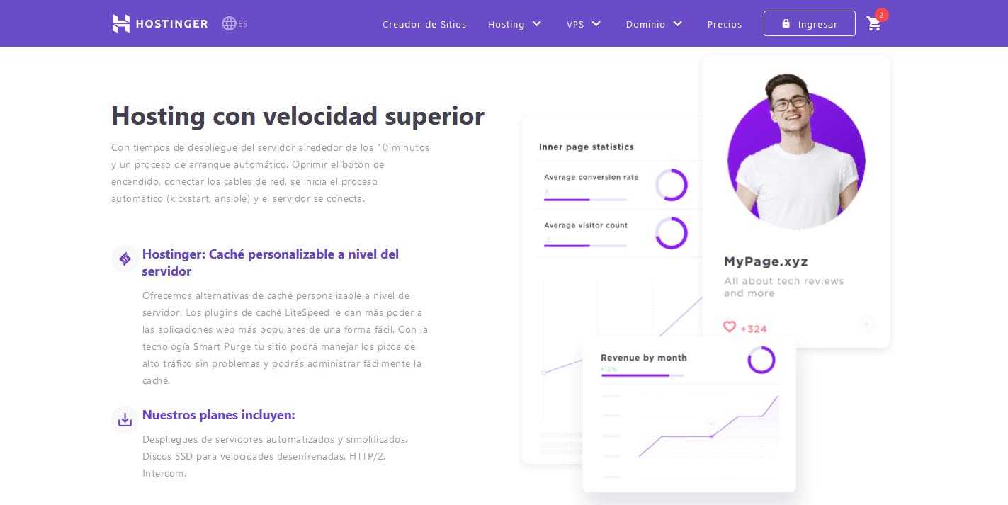 cupones hostinger argentina descuentos - Hosting Argentina Rápido y Potente (4)