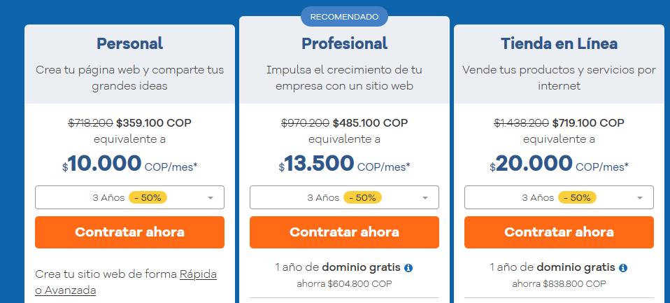 Cupones Web Hosting - cupón hostgator colombia Creador de Sitios Web HostGator Colombia