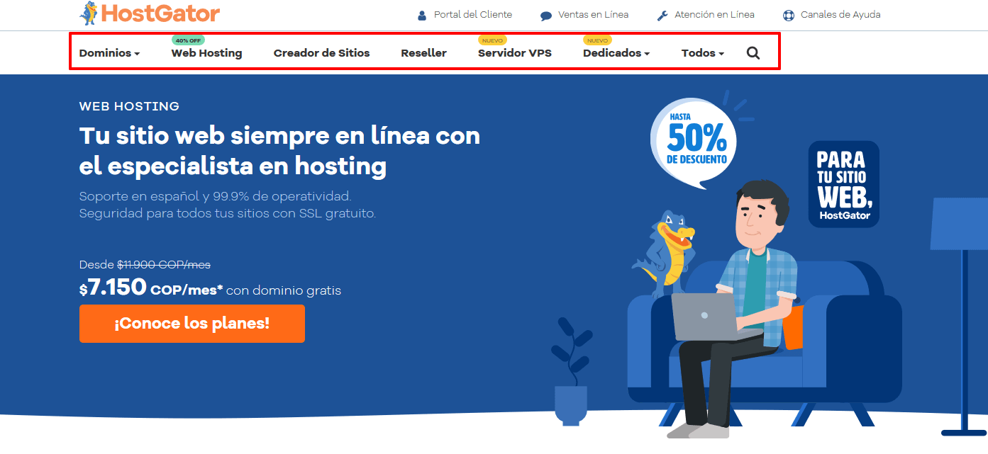 Cupones Web Hosting - cupón hostgator colombia Hosting Colombia Alojamiento Web Rápido y Seguro HostGator1