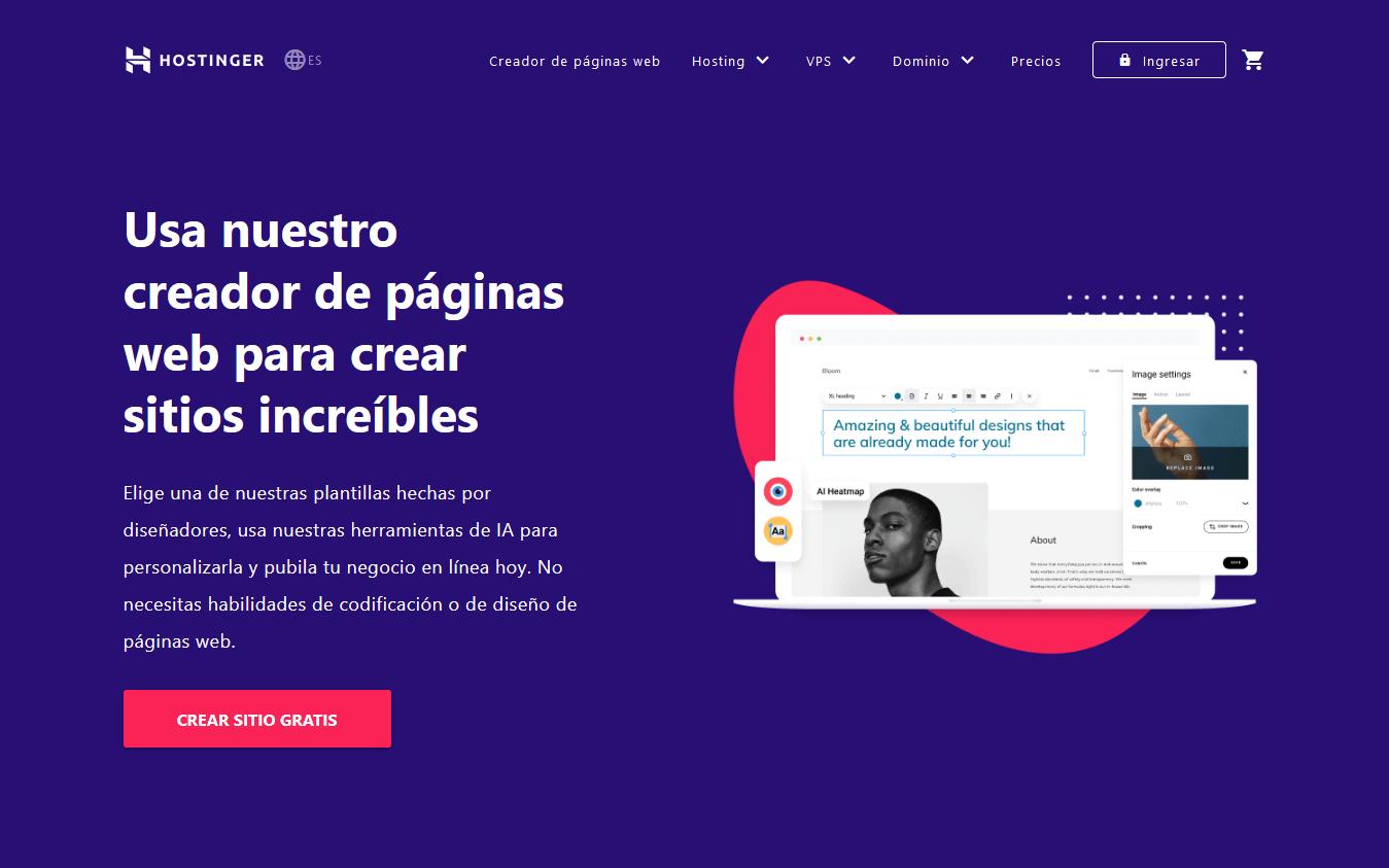 cupones hostinger mexico - cupón hostinger mexico - El Mejor Creador De Páginas Web De México -90% Dcto