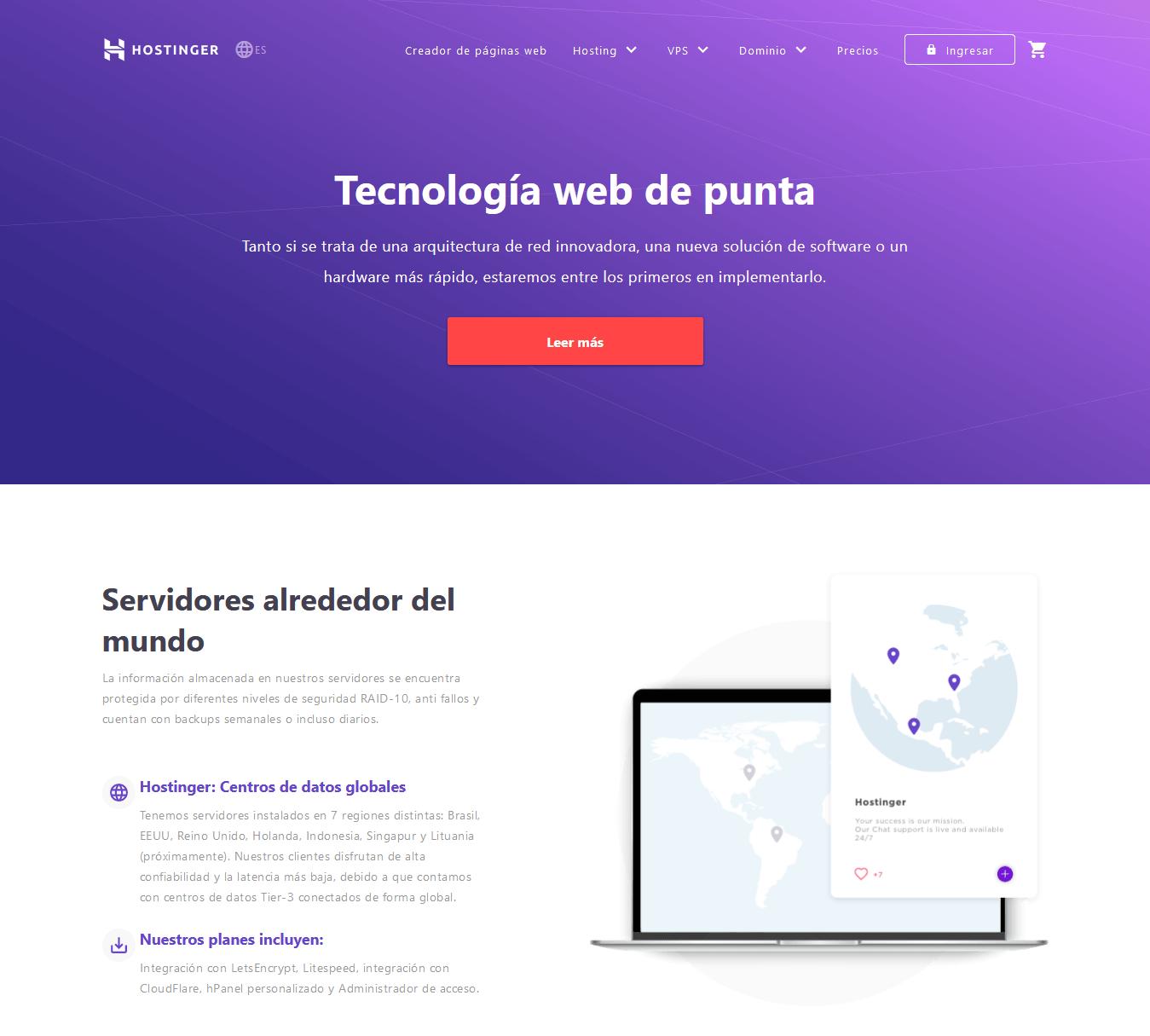 cupones hostinger mexico - cupón hostinger mexico - Tecnología Hosting Web De Nueva Generación Hostinger