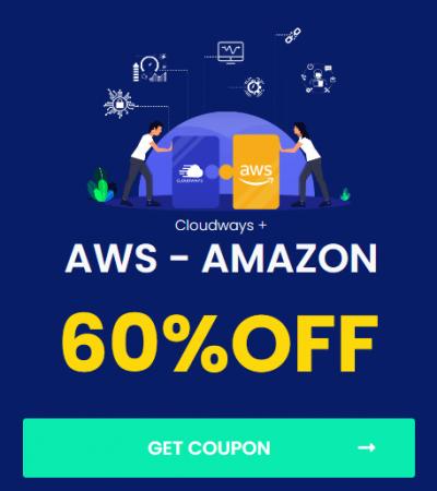 cloudways - promo code discount - amazon